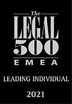 Leading Individual 2021 L500