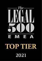 Top Tier Firms 2021 L500